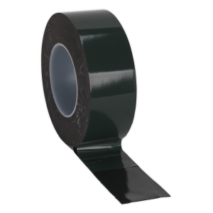 Sealey Double-Sided Adhesive Foam Tape 50mm x 10m Green Backing