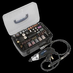 Sealey Multipurpose Rotary Tool & Engraver Kit 219pc 230V