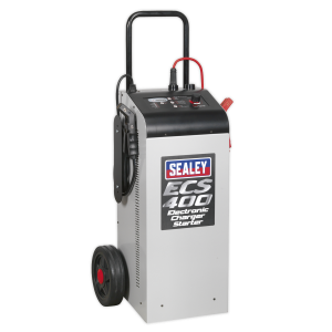 Sealey Electronic Charger Starter 75/400A 12/24V