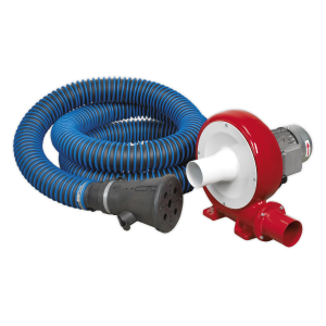 Sealey Exhaust Fume Extraction System 230V - 370W - Single Duct