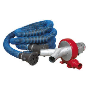 Sealey Exhaust Fume Extraction System 230V - 370W - Twin Duct