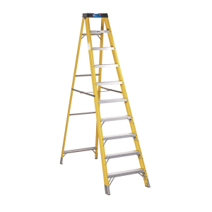 Sealey Fibreglass Step Ladder 9-Tread EN 131
