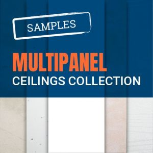Multipanel Ceiling Panel Samples