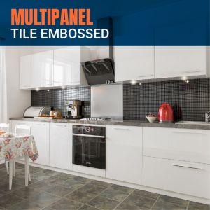 Multipanel Tile Embossed Panels