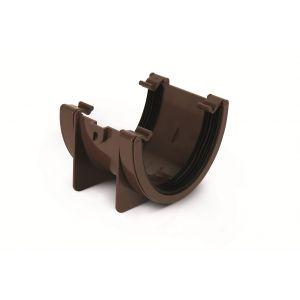 Eurocell - Gutter Universal XL Union Bracket Brown