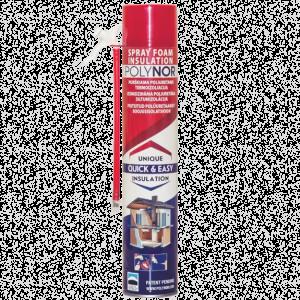 Polynor Home Spray Foam 750ml with Straw Nozzle