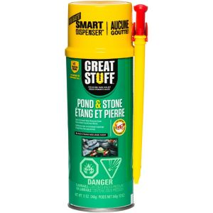 Great Stuff Pond & Stone Expanding Foam 500ml with Straw Nozzle