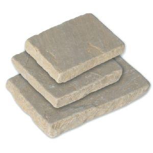 Strata Stone - Paving Setts - Raj Sandstone