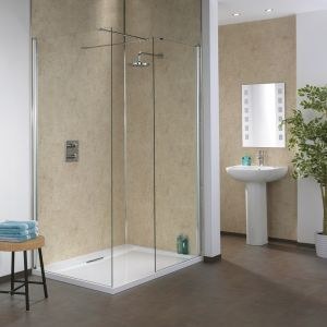 Splashpanel Shower Wall Panels - Sand Marble