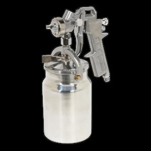 Sealey Spray Gun Suction Feed 1.5mm Set-Up