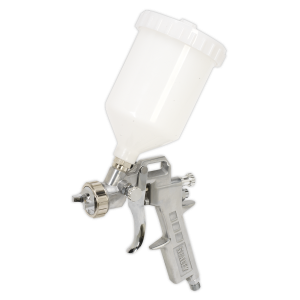 Sealey Spray Gun Gravity Feed 2.2mm Set-Up