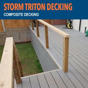 Storm Triton Composite Decking - Colours