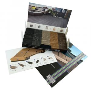 Storm Triton Composite Decking Presentation Pack All Colours & Brochure