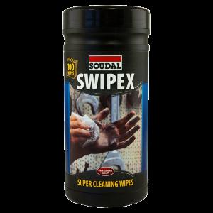 Soudal Swipex Wipes, Tub of 100