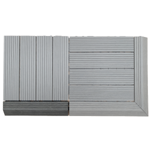 AB Fusion Decking Tile Anthracite Straight Joiner
