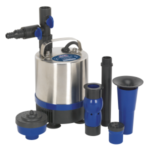 Sealey Submersible Pond Pump Stainless Steel 1750L/hr 230V