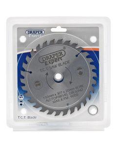 Draper - Expert TCT Saw Blade 150X20mmx30T