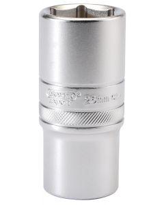 """Draper - 1/2"""" Sq. Dr. 6 Point Metric Deep Socket (26mm)"""
