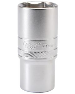 """Draper - 1/2"""" Sq. Dr. 6 Point Metric Deep Socket (27mm)"""