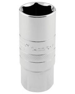 "Draper - 1/2"" Sq. Dr. 14mm Thread 6 Point Spark Plug Socket (21mm Socket)"