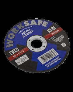 Sealey Cutting Disc Flat Metal Ø125 x 3.2 x 22mm