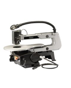 Draper - 405mm Variable Speed Scroll Saw with Flexible Drive Shaft and Worklight (90W)