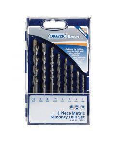 Draper - Metric Masonry Drill Set (8 Piece)