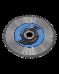 Sealey Aluminium Cutting TCT Saw Blade Ø250 x 30mm - 80tpu