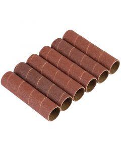 Draper - Pack of Six 25.5mm Aluminium Oxide Sanding Sleeves for 10773
