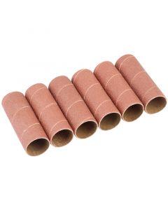 Draper - Pack of Six 38mm Aluminium Oxide Sanding Sleeves for 10773