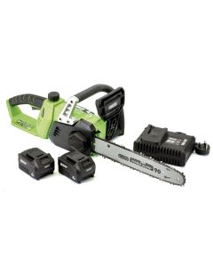 Draper - D20 40V Chainsaw with 2x Batteries and Fast Charger