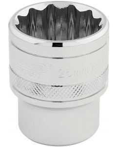 """Draper - 1/2"""" Sq. Dr. Hi-Torq® 12 Point Socket (25mm)"""