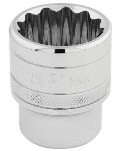"""Draper - 1/2"""" Sq. Dr. Hi-Torq® 12 Point Socket (26mm)"""