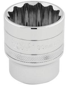 """Draper - 1/2"""" Sq. Dr. Hi-Torq® 12 Point Socket (30mm)"""