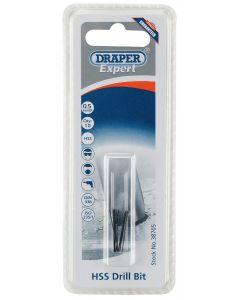 Draper - 0.5mm HSS Drill Bit (Pack of 10)