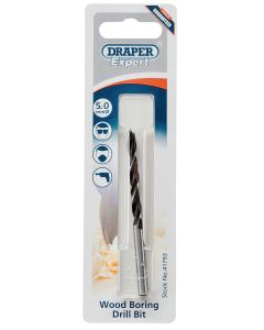 Draper - 5.0mm Wood Drill Bit