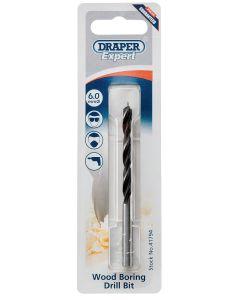Draper - 6.0mm Wood Drill Bit