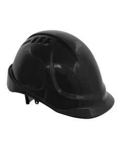Sealey Plus Safety Helmet - Vented (Black)