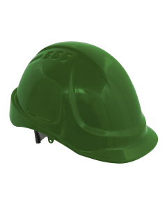 Sealey Plus Safety Helmet - Vented (Green)