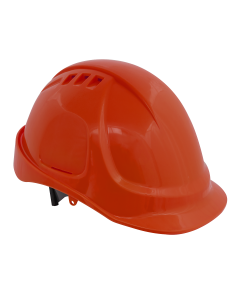 Sealey Plus Safety Helmet - Vented (Orange)