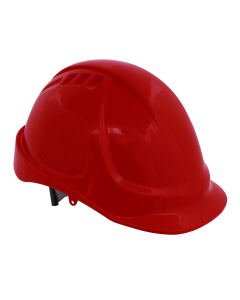 Sealey Plus Safety Helmet - Vented (Red)