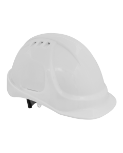 Sealey Plus Safety Helmet - Vented (White)
