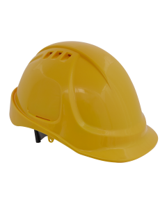 Sealey Plus Safety Helmet - Vented (Yellow)