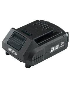 Draper - D20 20V Lithium Battery (2.0Ah)
