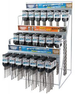 Draper - Metric SDS+ Drill Bit Merchandiser (137 Piece)