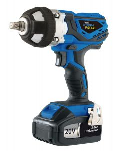 Draper - 20V Cordless Impact Wrench with 2 LI-ION Batteries (3.0Ah)