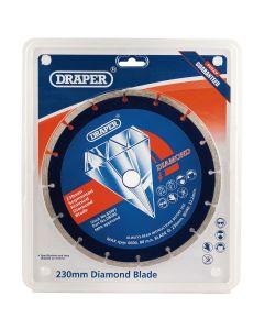 Draper - 230 x 22.2mm Segmented Rim Diamond Blade