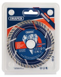Draper - 115 x 22.2mm Segmented Diamond Blade