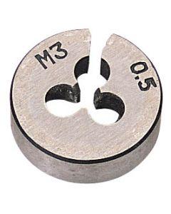 "Draper - 13/16"" Outside Diameter 3mm Coarse Circular Die"