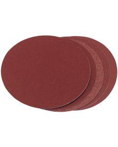 Draper - Five Assorted Grit Aluminium Oxide Sanding Discs (150mm)